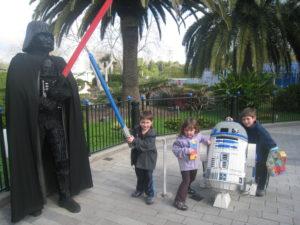 Kids at LegoLand