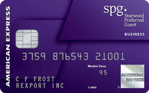 Apply For The American Express Starwood Preferred Business Card Here